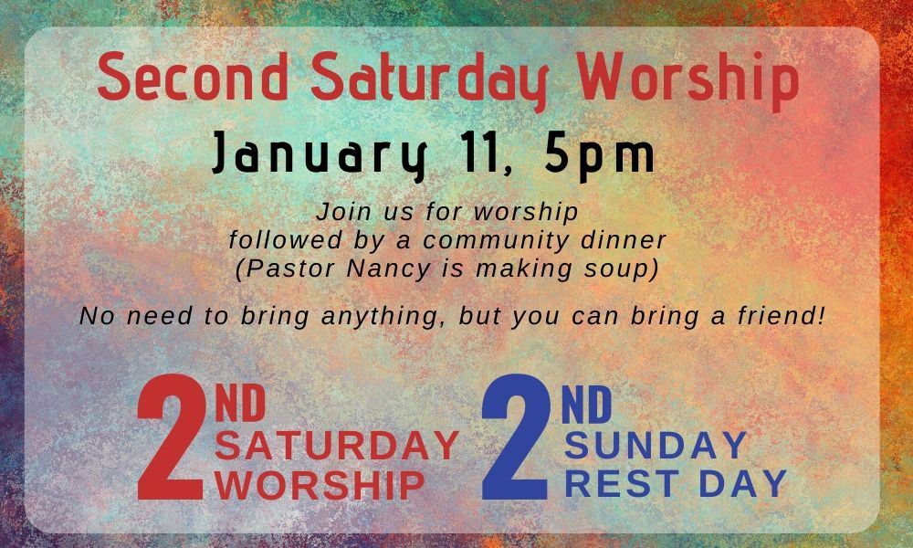 Second Saturday Worship