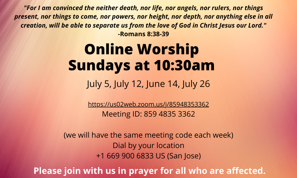 Worship for July 2020 (1)